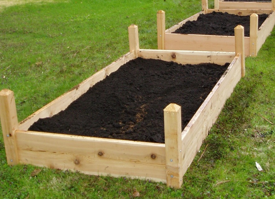 Add Extra Soil To Raised Garden Bed