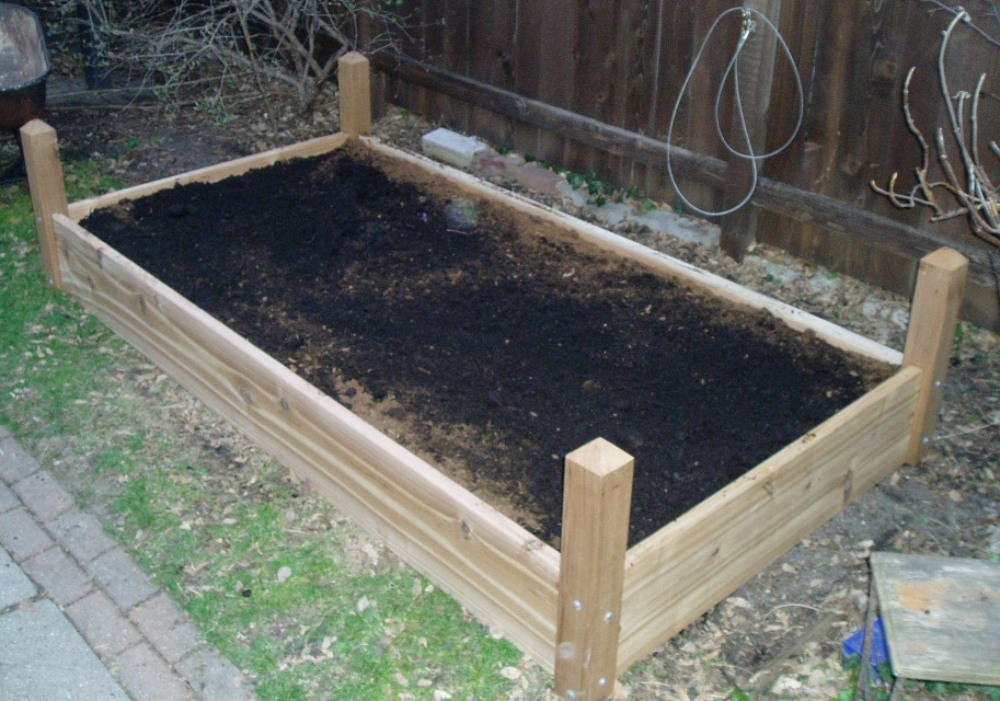 1 3 5 Raised Garden With Rabbit Railings Bed Delivered