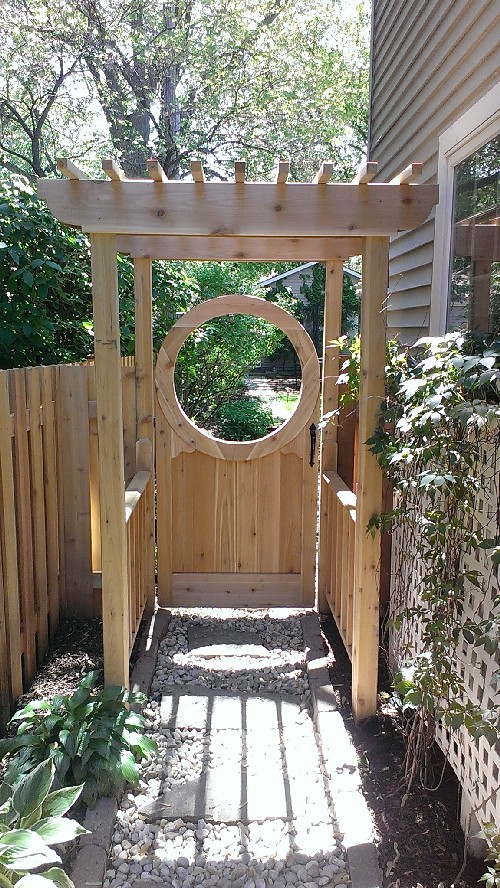 Vegetable Garden Entrance