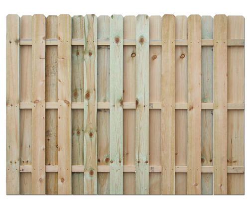 8 Foot Tall X 8 Wide Premium Heavy Duty Fence Panel